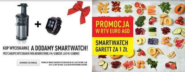 smartwatch za złotówkę